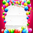 Birthday background — Stock Vector #39246267