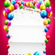Birthday background — Stock Vector #39246285