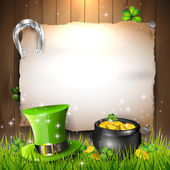 St. Patrick's Day background — Cтоковый вектор