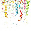 Stock Vector: Confetti