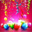 Birthday background — Vector de stock #39495109
