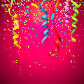 Confete — Vetorial Stock