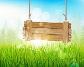 Spring morning — Stock Vector