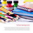 Foto Stock: School background