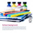 Stock Photo: School background