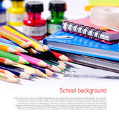 Skolan bakgrund — Stockfoto