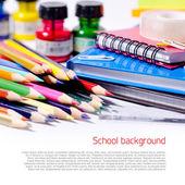 Szkoła tło — Zdjęcie stockowe