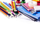 Okul malzemeleri — Stok fotoğraf