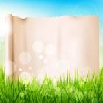 Spring meadow — Stock Vector #40802335