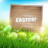 Easter background — Stockvector