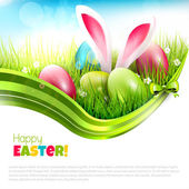 Easter greeting card — Vetorial Stock