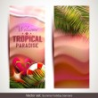 Summer holidays banners — Stock Vector #42869577