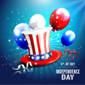 Independence day background — Vettoriale Stock