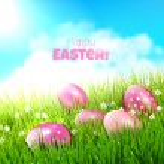 sfondo di Pasqua — Vettoriale Stock  #44751457