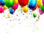 Birthday balloons — Stock Vector #45707489