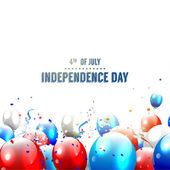 Independence day - vector background — Stock Vector