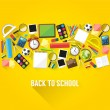 Back to school background — Vettoriale Stock  #47834901