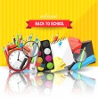 Back to school background — Stock Vector #50570075