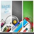 Back to school banners — Stock Vector #50570395