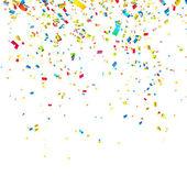 Kolorowy konfetti — Wektor stockowy