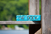 The Dock — Foto de Stock