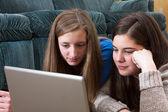 Teens study close up — Stock Photo