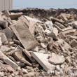 Concrete recycling — Stock Photo