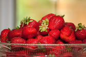 Bol de fraises locales de l'ontario — Photo