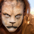 Lion Man meancing close up — Stock Photo #29631609