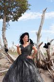 The crow wisperer — Stock Photo