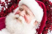 Laughing Santa — Stock Photo