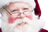 Christmas Santa Claus with specs — Stock Photo