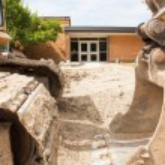 School renovation — Stock Photo