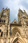 Basilica of the National Vow in Quito Ecuador — Stock Photo