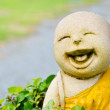 Laughing sculpture — Stock Photo