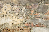 Damage of very old wall — Stock Photo