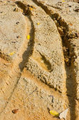 Dirty track — Foto Stock