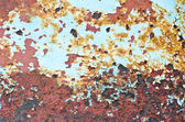 Rusty steel plate — Stockfoto