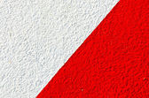 Wall white red — Stock Photo
