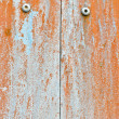Stock Photo: Orange rusty color wall for background user