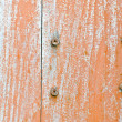 Stock Photo: Orange rusty color wall for background