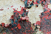 Rusty grunge red wall for background use — Stock Photo