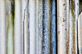 Closeup old dirty damage roof tile — Stock Photo