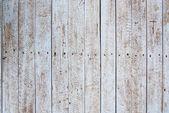Rusty old white hardwood plank wall — Stock Photo
