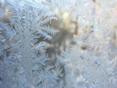 Snowflakes abstract winter texture background — Stock Photo
