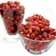 Wild strawberry berries fruit dessert — Foto de Stock
