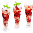 Fruit cocktail smoothie with wild strawberry — Stock Photo #28220261