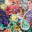 Semigem crystals beads jewellery — Stockfoto