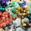 Semigem crystals beads jewellery — Stock Photo
