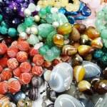 Semigem crystals beads jewellery — Stock Photo #36097269